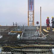Construction of concrete slabs with PASCHAL Maturix