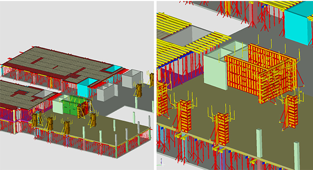 Fully automatic formwork software