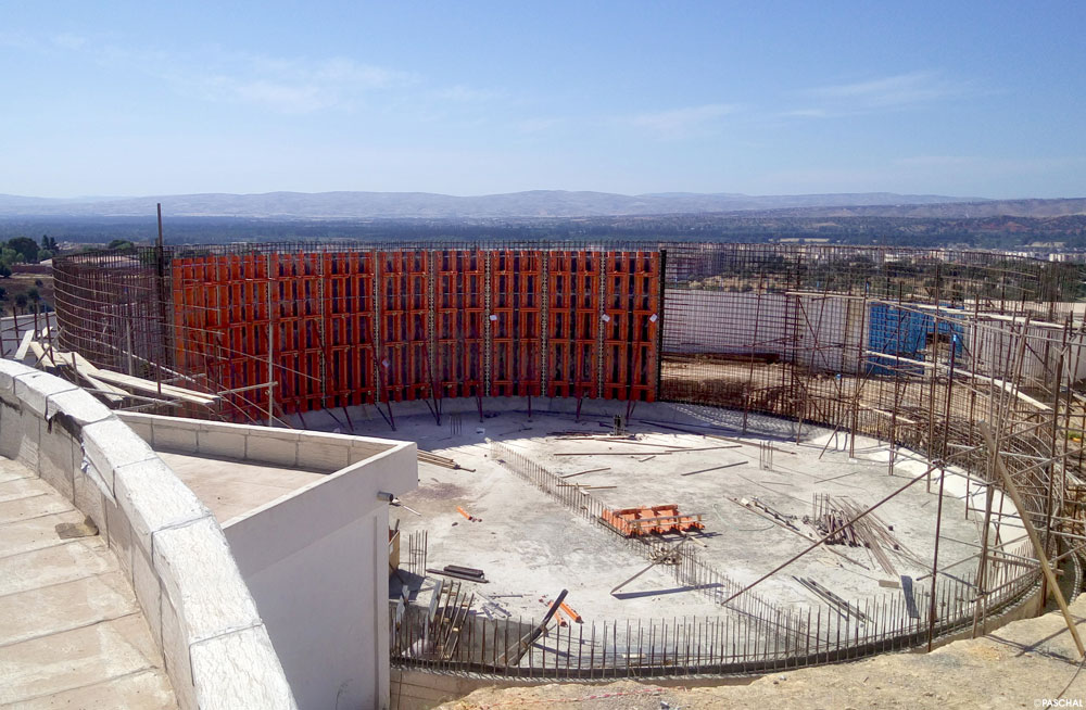 Perfect circles with the TTR circular formwork | PASCHAL India