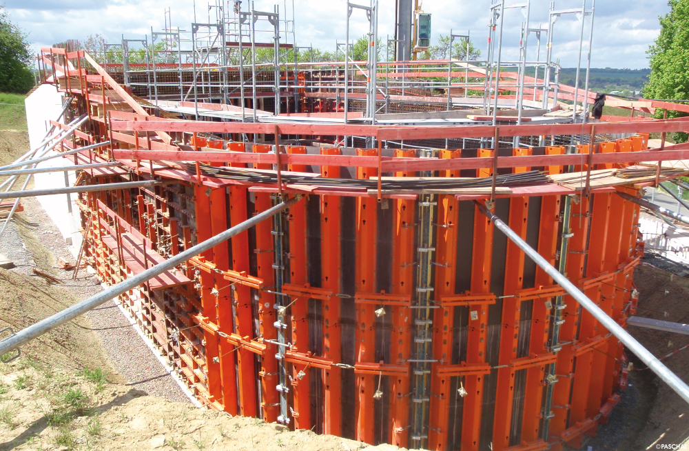All formwork systems are fully compatible